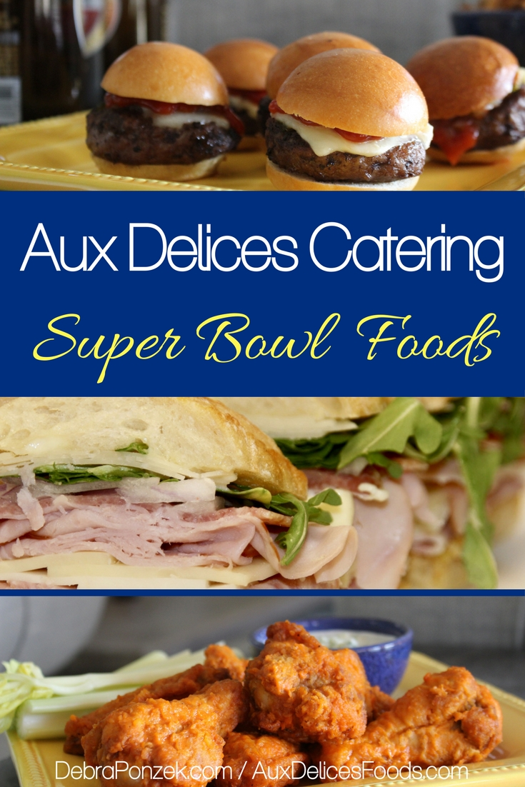 Super Bowl 2018 is right around the corner and Aux Delices has everything you'll need to serve up a delicious celebration for the winners and the losers.